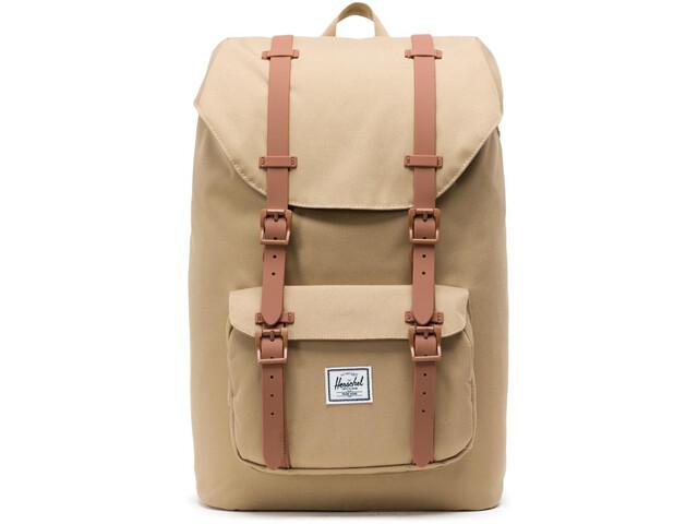 Herschel Little America Mid-Volume Backpack 17l kelp/saddle brown